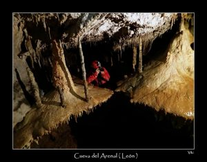 Cueva el Arenal  (León ) 12 -2 -2017
